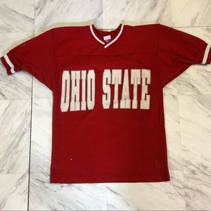 Vintage 80s Ohio State jersey T-shirt
